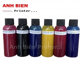 Mực in Pigment UV sử dụng cho giấy couche, tem vỡ  loại tốt